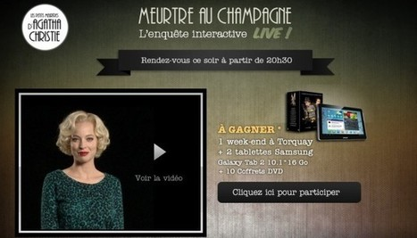 """Les petits meurtres d'Agatha Christie"" : l'application web est plutôt réussie 
