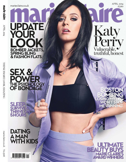 Katy Perry covers Marie Claire UK Magazine | Magazines Cover Girl | Scoop.it