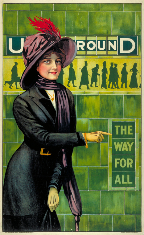 20 Gorgeous Vintage Posters For The London Underground | Vintage Decor | Scoop.it