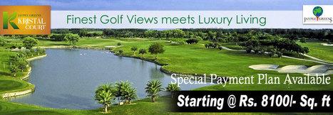 Reside in the luxurious apartments of Jaypee Kristal Court | Jaypee Greens | Kristal Court Noida | Sector - 128, Noida | Scoop.it