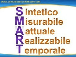"COACHING? COMINCIA CON OBIETTIVI ""SMART""! - ComuniCare ConVincere | Leadership, management, team building | Scoop.it"