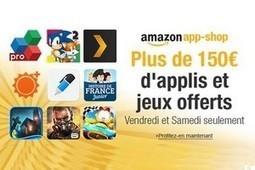 Amazon offre 150 euros d'applis et de jeux sur son magasin en ligne   Actualité mobile, trucs et astuces   Scoop.it