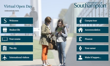 Attend an Open Day  - visit us virtually now! | Get Ready For Languages at Southampton | Scoop.it