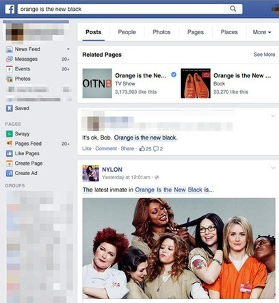 Come utilizzare la Graph Search di Facebook per ottimizzare i propri risultati | Social Media Italy | Scoop.it