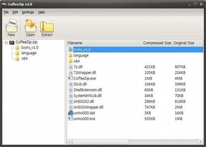 Logiciel gratuit d'archivage de fichiers : CoffeeZip | ImNerdy | Scoop.it