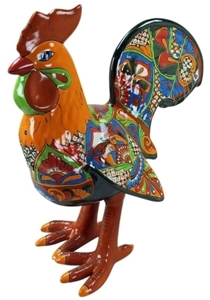 Large Talavera Rooster | Mexican Furniture & Decor | Scoop.it