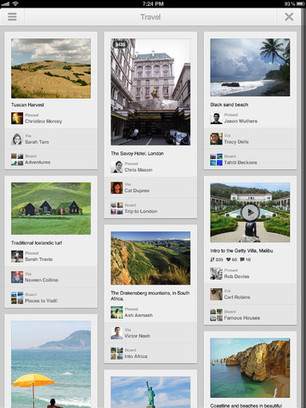Pinterest launches iPad and Android apps | App Buzz | Scoop.it