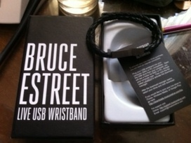 Le bracelet USB Bruce EStreet : un bel objet collector - le Blog Bruce Springsteen | Bruce Springsteen | Scoop.it
