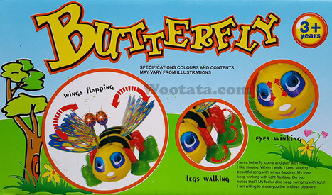 Mainan Kupu Kupu Anak Lucu Butterfly | Toko Mainan Anak Online | Scoop.it