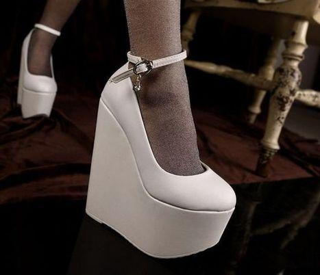 Kvoll Wholesale Fashion Elegance Platform Wedge Simple Wristbands Kvoll D75292 [D75292]- US$24.58 - www.wholesaleshoes8.com | Kvoll | Scoop.it