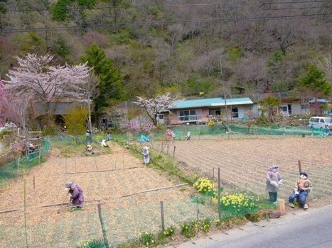 Japanese Artist Repopulates Abandoned Village with Creepy Hand-Sewn Dolls   Strange days indeed...   Scoop.it