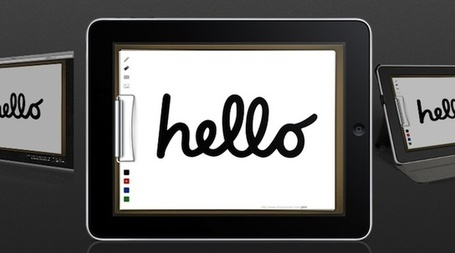 How To Use Your iPad As A Digital Whiteboard | iGeneration - 21st Century Education | Scoop.it