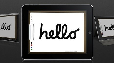 How To Use Your iPad As A Digital Whiteboard - Edudemic | Sharing online to enrich learning | Scoop.it