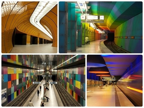 Las 15 estaciones de metro más bonitas del Mundo | Green Euskadi | Scoop.it