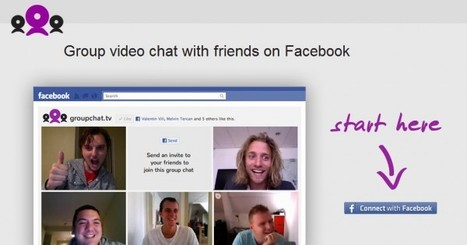 Groupchat – Videoconferencia en grupo dentro de Facebook | e-learning y aprendizaje para toda la vida | Scoop.it