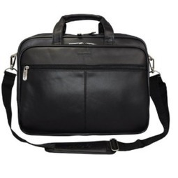 "Kenneth Cole Reaction the ""I Rest My Case"" Leather Briefcase 