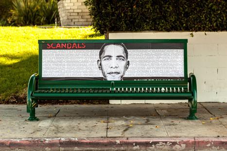 LA Street Artist Blasts Obama for 'Scandalous' Fundraiser   Street Art   Scoop.it