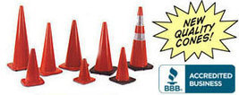 Traffic Cones Safety Cones: Collapsible, Reflective and Heavy Duty Traffic Cones for Sale | Roadtech Manufacturing | speed bumps | Scoop.it