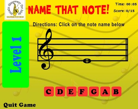 Music Discovery for Kids.com | Music Games | Scoop.it