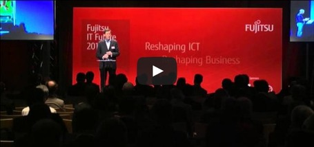 Keynote Fujitsu IT Future 2013 | cross pond high tech | Scoop.it