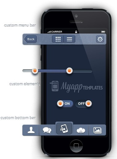 iPhone and Android App Templates | MyAppTemplates | Highest quality visual design | Scoop.it