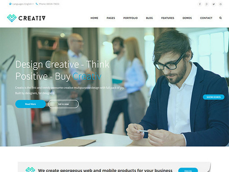 Top 15 HTML Templates That Can Be Used To Develop Business Websites | Web Development Blog, News, Articles | Scoop.it
