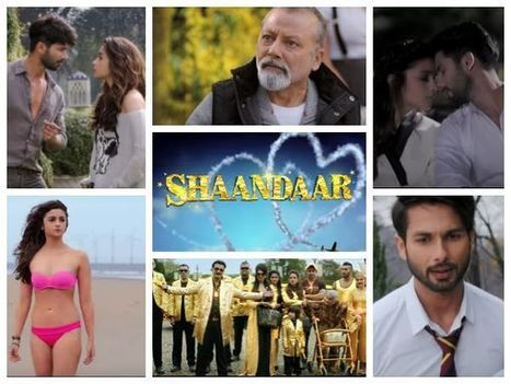 Watch Shaandaar Official Trailer: Shahid-Alia, Too Cute, Too Hot | Bollywood Movies News | Scoop.it