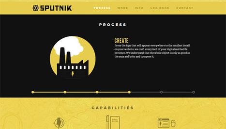 30 Beautiful Examples of Design Agency/Studio Websites | Veille tech | Scoop.it