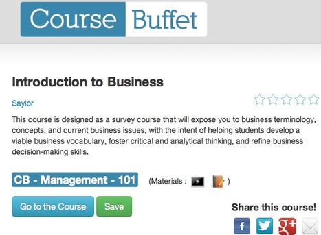 CourseBuffet wants to be the meta university among online learning courses | EduRevolutia -Tools | Scoop.it