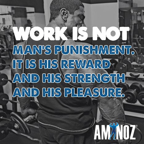 Work is worship | Aminoz Health and Sports Supplements | Scoop.it