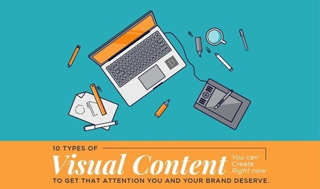 10 Types Of Visual Content to Improve Social Engagement | Social Media | Scoop.it