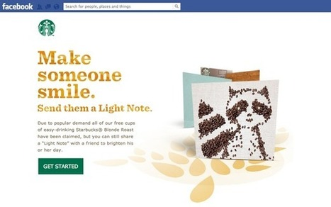 Eight awesome social campaigns from Starbucks   Teens and Social Media   Scoop.it