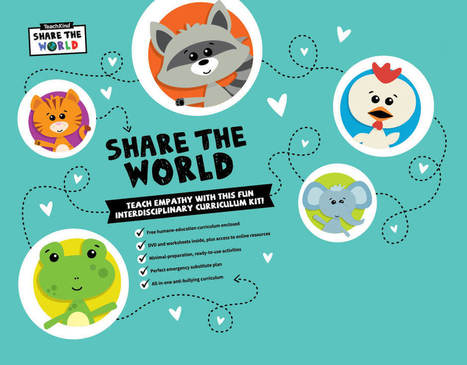 Teach Compassion With TeachKind's 'Share the World' | Pesten & Digitaal Pesten wereldwijd Stichting Stop Pesten Nu - News articles about Bullying and Cyber Bullying World Wide Foundation Stop Bullying Now | Scoop.it