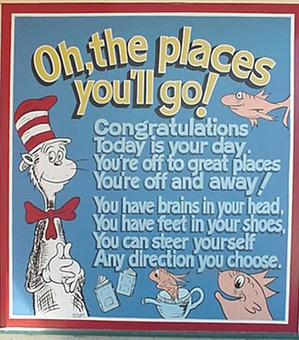 Dr. Seuss 'Oh the Places You'll Go Quote