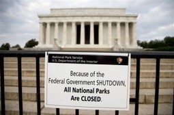 What The Shutdown Means For Energy And Environmental Programs | Sustain Our Earth | Scoop.it