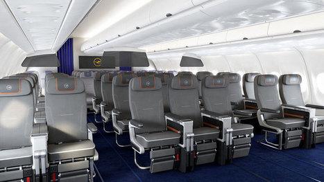 Lufthansa unveils premium economy seat - Business Traveller | Aviation | Scoop.it