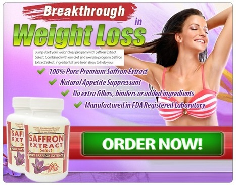 Saffron Extract Select Review – A Miraculous Fat Burning Solution! | Lose Undesired Weight And Become Slim | Scoop.it