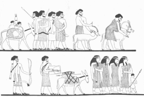 A female administrator in ancient Egypt   Aladin-Fazel   Scoop.it