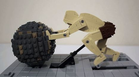A Perpetual Sisyphus Kinetic Sculpture Built with Lego | Educacioaunclic | Scoop.it