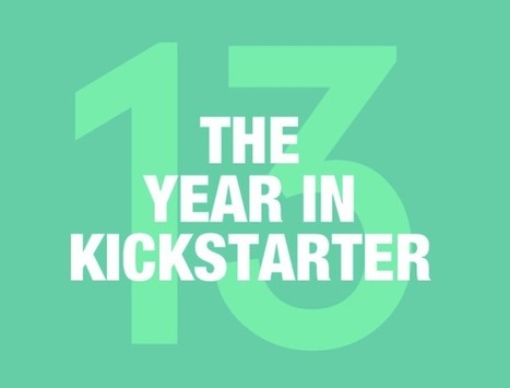 Kickstarter's 2013 Saw 3M Crowdfunders Pledge $480M, 19.9K Successfully Funded Projects | TechCrunch | Transition to Riches | Scoop.it