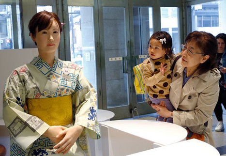 Toshiba's humanoid retail robot is ready to greet you | Outbreaks of Futurity | Scoop.it