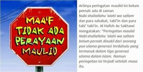 Penjelasan Mengapa Maulid Nabi Bid'ah   Dunia Islam   Dunia Islam   Scoop.it