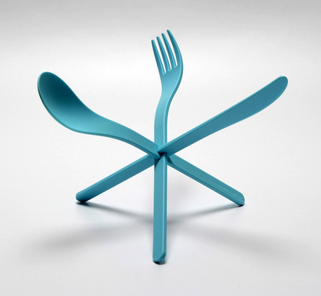 JOIN Cutlery by DING3000 with Konstantin Slawinsk » Yanko Design | SerenDeep | Scoop.it