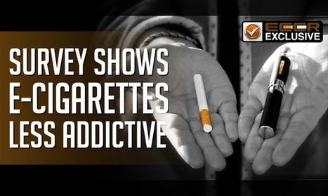 Ecig Myth Busting | Survey Shows E-Cigarettes Less Addictive | Topics We Found Useful & Interesting | Scoop.it
