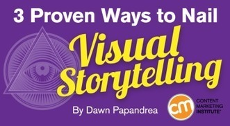 3 Proven Ways to Nail Visual Storytelling | World of #SEO, #SMM, #ContentMarketing, #DigitalMarketing | Scoop.it