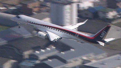 A few weeks ago Mitsubishi MRJ takes to the air for the first time | Commercial Aviation | Scoop.it
