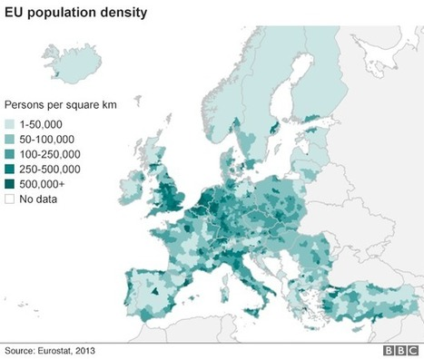 Which countries are in the best position to take migrants? - BBC News | Economics AS and A2 | Scoop.it