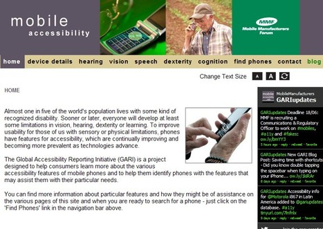 MMF - Mobile Accessibility | Inclusive teaching and learning | Scoop.it