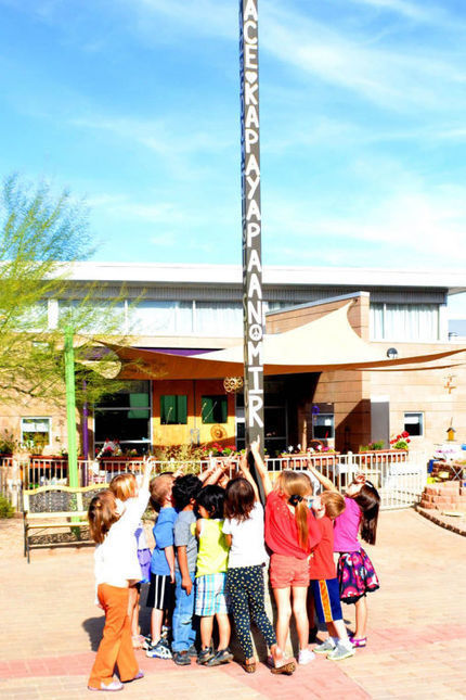 Keystone Montessori embraces peace on campus - Ahwatukee Foothills News | Preschool Montessori Education | Scoop.it