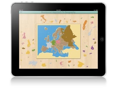 La Pédagogie Montessori sur iPad : Inventaire des Ressources et Applications | Tablettes et éducation | Scoop.it